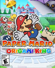 Paper Mario: The Origami King Cover Art