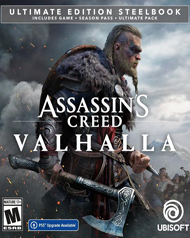 Assassin\'s Creed Valhalla Cover Art