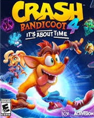 Crash Bandicoot 4: It\'s About Time Cover Art